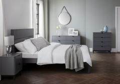 Chloe Grey Bedroom