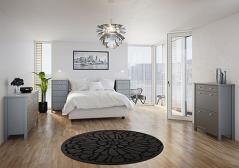 Tromso Grey Bedroom