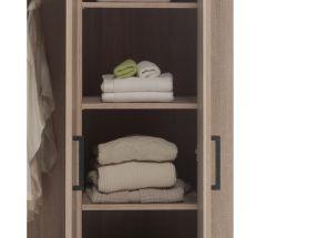 Aline Three Door Wardrobe Shelf