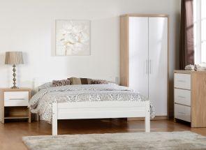 Amber Bedroom With Seville TT White