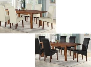 Andorra Acaia Ext Table & Sophie Chairs