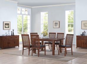 Andorra Table & Strathmore Dining Chairs