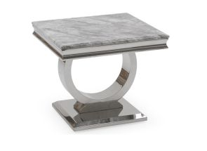 Arianna Grey End Table