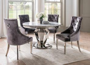 Arturo & Belvedere Round Dining Room