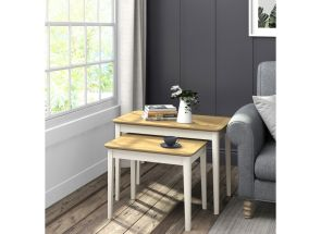 Ascot Ivory Table Nest Room