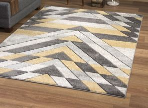 Asher Mustard Rug (Express Delivery 3-5 days)