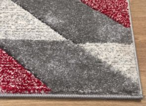 Asher Red Rug (Express Delivery 3-5 days)