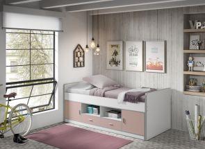 Bonny Light Pink Cabin Bed Room