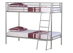 Brandon 3 ft Silver Bunk Bed