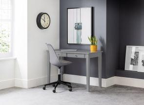 Carrington Grey Desk & Erika Chair Room