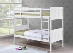 Cassie 3 ft White Bunk Bed