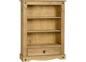 Corona One Drawer Bookcase