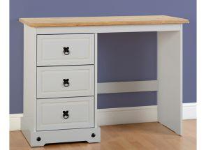 Corona Grey & Pine Dressing Table