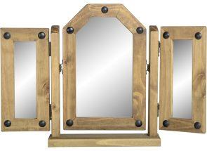 Corona Pine Triple Mirror