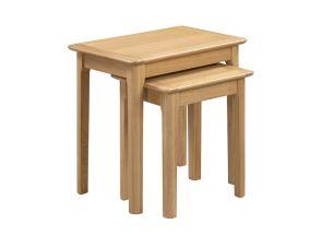 Cotswold Oak Table Nest - 1