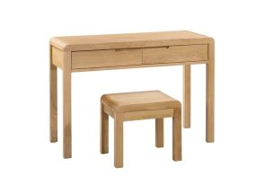 Curve Dressing Table & Stool