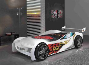 LeMans White Car Room