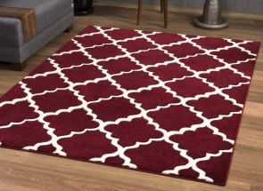 Darcy Red Rug Room