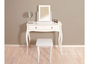 Baroque White Bedroom Set