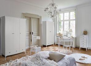 Baroque White Bedroom