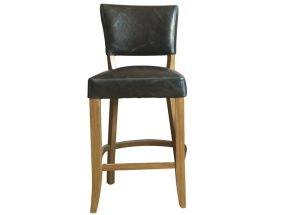 Duke Blue Bar Chair