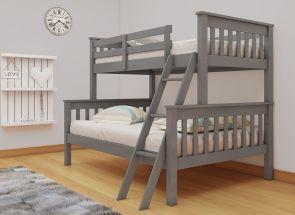 Dux Grey Triple Bunk Bed