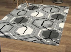 Elsie Grey Rug Floor