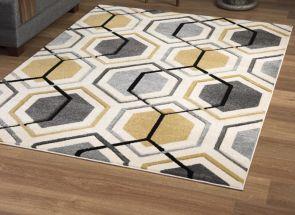 Elsie Mustard Rug Floor
