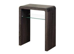 Encore Small Charcoal Oak Console Table