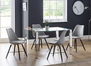 Enzo Table & Kari Chair Set