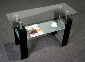 Frankfurt Black Console Table
