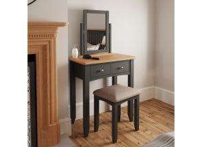 GA Grey Bedroom Vanity Set - roomset