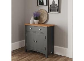 GA Grey Small Sideboard - roomset
