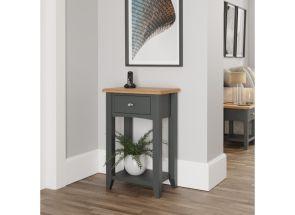 GA Grey Telephone Table - roomset
