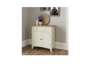 GA White Small Sideboard - room