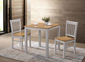 Galina Grey & Oak Dining Set