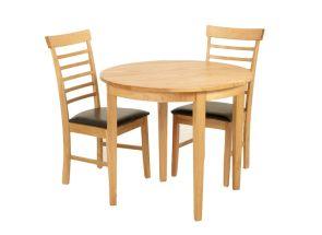 Hanover Half-Moon Dining Set Extended