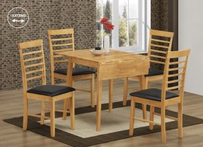 Hanover Sq. Drop Leaf Table & Four Hanover Chairs