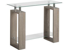 Milan Charcoal Oak Console Table
