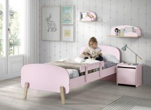 Kiddy Pink Bed & Bedside
