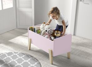 Kiddy Pink Toy Box Room