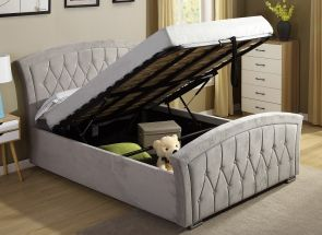 Kingston Ottoman Bed - open
