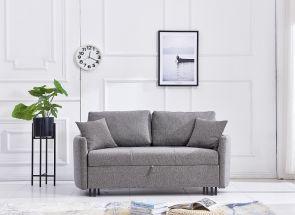Kirkby Grey Fabric Sofa Bed - 1