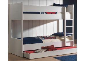 Lara Bunk Bed W/Drawer Room
