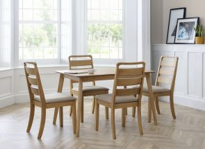 Lars Dining Chairs & Boden Table Room