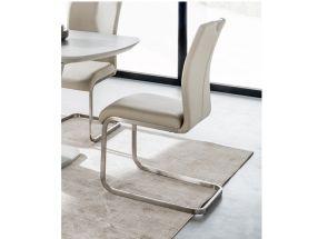 Lazzaro Taupe PU Chair
