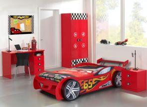 LeMans Red Car & Monza Furniture Bedroom
