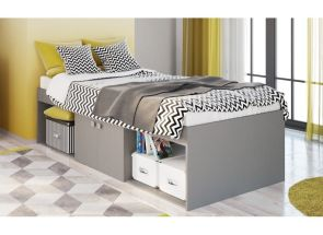 Low Captains Cabin Bed W/Niches Bedroom