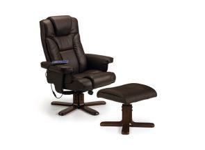 Malmo Brown Massage Chair