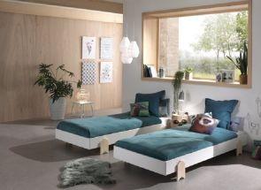 Modulo White Arrow Bedroom